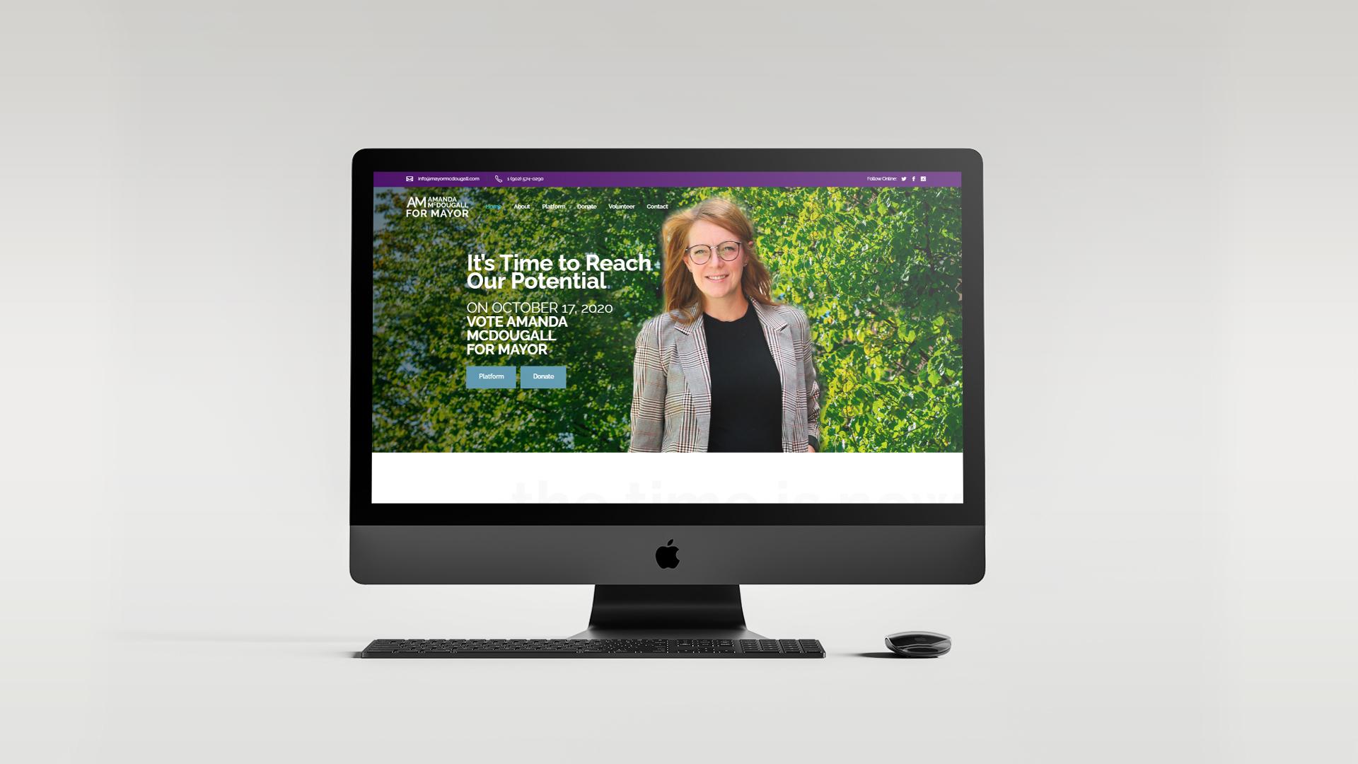 Amanda McDougall – Mayoral Campaign